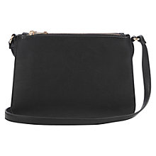 Buy Oasis Triple Cross Body Bag, Black Online at johnlewis.com