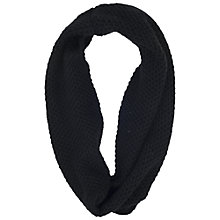 Buy French Connection Gabby Chunky Knit Snood, Black Online at johnlewis.com