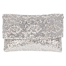 Buy Coast Faith Sequin Minae Clutch Bag, Neutral Online at johnlewis.com