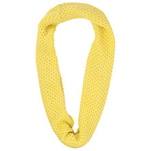 Buy French Connection Gabby Chunky Knit Snood, Acid Blonde Online at johnlewis.com