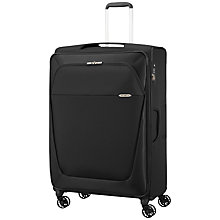 Buy Samsonite B-Lite 3 4-Wheel 83cm Large Suitcase, Black Online at johnlewis.com