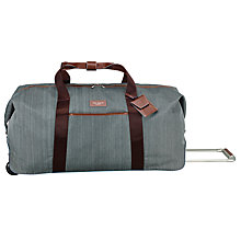 Buy Ted Baker 2-Wheel Large Holdall, Grey Online at johnlewis.com