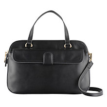 Buy Tula Smooth Originals Medium Double Zip Leather Grab Bag Online at johnlewis.com