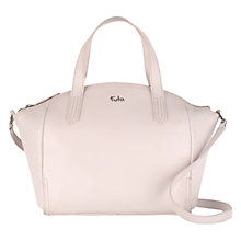Buy Tula Nappa Originals Medium Zip Top Handbag, Pink Online at johnlewis.com