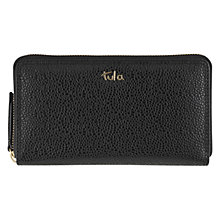 Buy Tula Rye Originals Leather Matinée Purse, Black Online at johnlewis.com