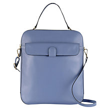 Buy Tula Smooth Originals Large Leather Zip Top Grab Bag Online at johnlewis.com