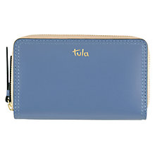 Buy Tula Smooth Originals Leather Purse, Blue Online at johnlewis.com