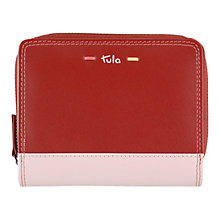 Buy Tula Violet Leather Wallet Purse Online at johnlewis.com