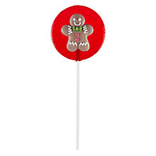 Buy Bespoke Red Lolly with Gingerbread Man Online at johnlewis.com