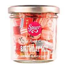 Buy Spun Candy Birthday Mix Jar, Pink, 100g Online at johnlewis.com