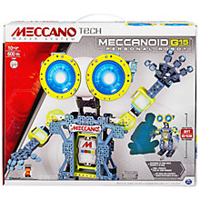 Buy Meccano Tech Meccanoid G15 Personal Robot Online at johnlewis.com