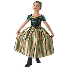 Buy Disney Frozen Coronation Anna Costume Online at johnlewis.com