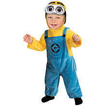 Buy Minions Dave Dressing-Up Costume, Toddler Online at johnlewis.com