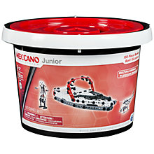 Buy Meccano Juniors 150-Piece Bucket Set Online at johnlewis.com