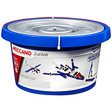 Buy Meccano Juniors 100-Piece Bucket Set Online at johnlewis.com