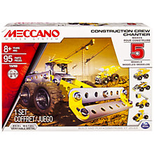 Buy Meccano Construction Crew, 5 Model Set Online at johnlewis.com