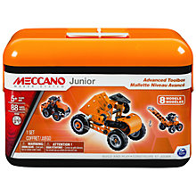 Buy Meccano Junior Advanced Toolbox Set Online at johnlewis.com