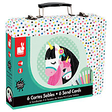 Buy Janod Horse Sand Card Maker Kit Online at johnlewis.com
