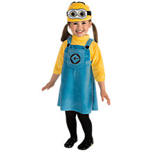 Buy Minions Dressing-Up Costume, Toddler Online at johnlewis.com