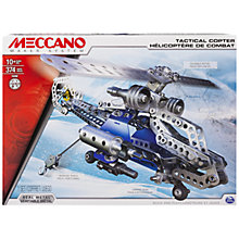 Buy Meccano Tactical Helicopter Set Online at johnlewis.com
