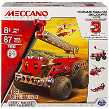 Buy Meccano Rescue Force, 3 Model Set Online at johnlewis.com