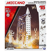 Buy Meccano Space Quest, 15 Model Set Online at johnlewis.com