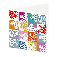 Buy ArtPress Winter Snowflake Cards, Pack of 5 Online at johnlewis.com