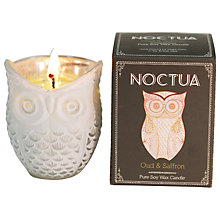 Buy Noctua Oud and Saffron Scented Candle Online at johnlewis.com