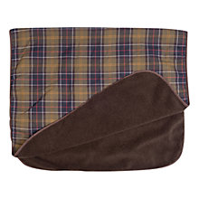 Buy Barbour Classic Tartan Dog Blanket Online at johnlewis.com