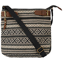 Buy Fat Face Millington Mini Cross Body Bag, Black Online at johnlewis.com
