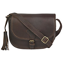Buy Fat Face Peckleton Tassel Bag, Brown Online at johnlewis.com