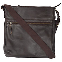 Buy Fat Face Kelvedon Leather Bag Online at johnlewis.com