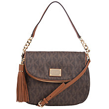 Buy MICHAEL Michael Kors Jet Set Medium Tassel Shoulder Bag Online at johnlewis.com