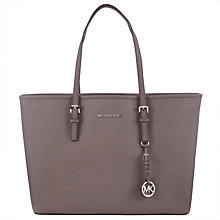 Buy MICHAEL Michael Kors Jet Set Travel Medium Multifunctional Tote Online at johnlewis.com