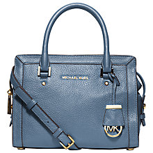 Buy MICHAEL Michael Kors Collins Small Satchel Online at johnlewis.com