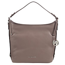 Buy MICHAEL Michael Kors Bedford Belted Large Leather Shoulder Bag Online at johnlewis.com