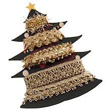Buy John Lewis Metallic Christmas Tree Ribbons, Pack of 5 Online at johnlewis.com