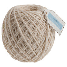 Buy John Lewis Large Jute String Ball, 87m, Natural Online at johnlewis.com