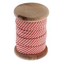 Buy John Lewis Candy Cane Stripe Trim, 3m, Red/White Online at johnlewis.com