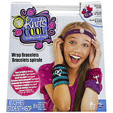 Buy Spin Master Sew Cool Wrap Bracelets Kit Online at johnlewis.com