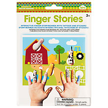 Buy Finger Stories Animal Storyboards Online at johnlewis.com