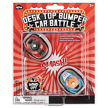 Buy Desk Top Bumper Car Battle Online at johnlewis.com