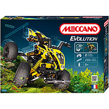 Buy Meccano Evolution 2-in-1 ATV Construction Kit Online at johnlewis.com