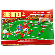 Buy John Lewis Exclusive Subbuteo Retro Table Football Game Online at johnlewis.com