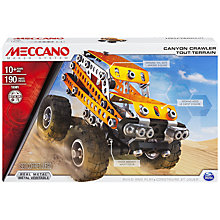 Buy Meccano Canyon Crawler Set Online at johnlewis.com