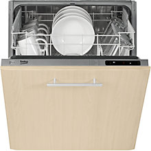 Buy Beko DIN15210 Fully Integrated Dishwasher Online at johnlewis.com