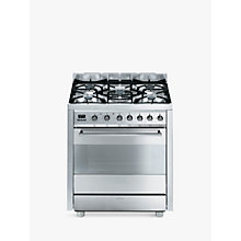 Buy Smeg C7GPX8  Symphony Range Cooker, Stainless Steel Online at johnlewis.com