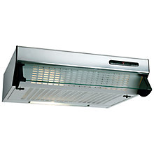 Buy Beko HBV60X Built-In Visor Cooker Hood, Stainless Steel Online at johnlewis.com