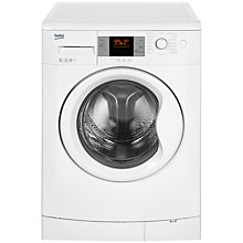 Buy Beko WMB91243LW Freestanding Washing Machine, 9kg Load, A+++ Energy Rating, 1200rpm Spin, White Online at johnlewis.com