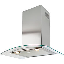 Buy Beko HBG70X Integrated Chimney Cooker Hood, Stainless Steel Online at johnlewis.com